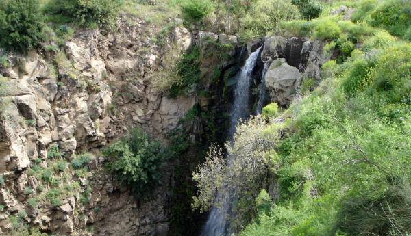 Waterfall in Northern Israel