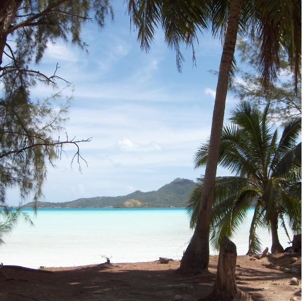 Untouched Natural Beauty in Bora Bora
