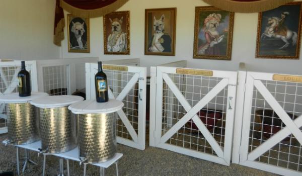 Frenchie Winery Interior