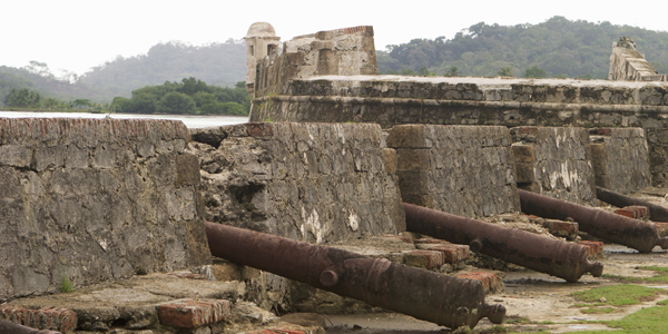 Fort Ruins near Portobelo