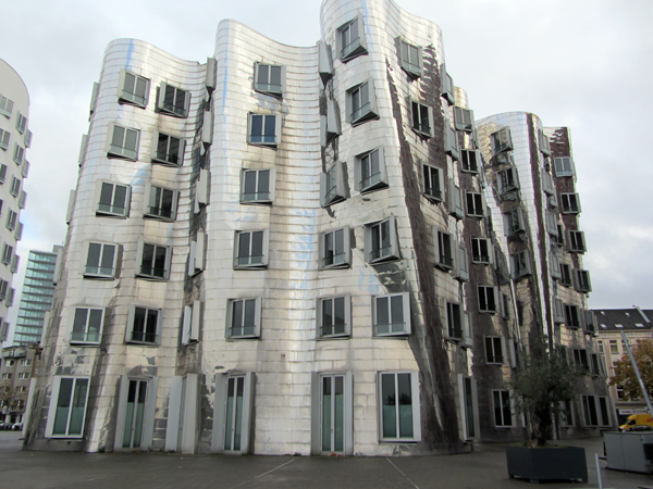 One of Three Gehry Buildings
