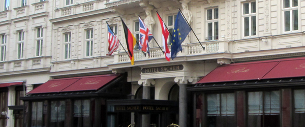 Hotel Sacher (home of the Sacher Torte)