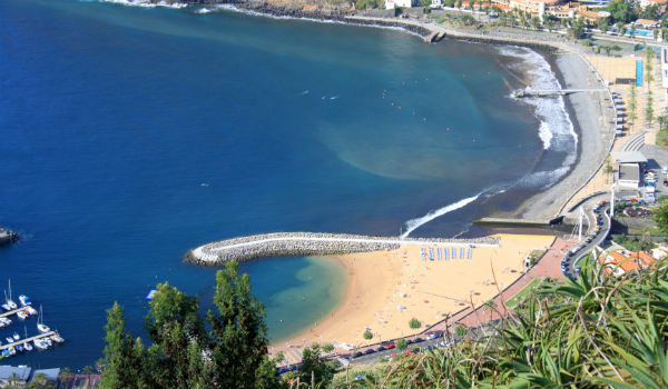Madeira does have a few good beaches with torquise waters