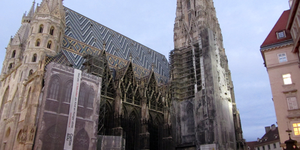 Restoration Work on St. Stephen's Cathedral
