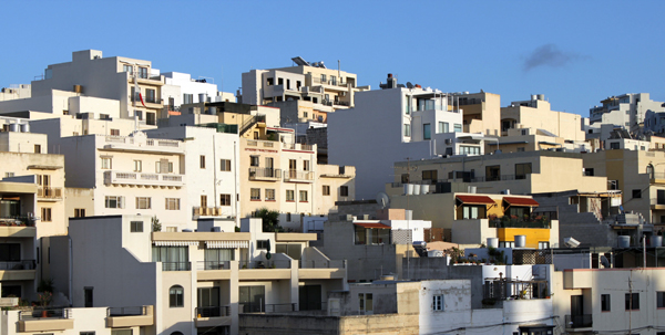 Malta Skyline (Navjot Singh)