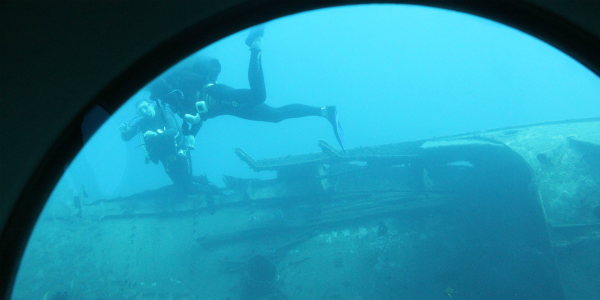 View from the Submarine