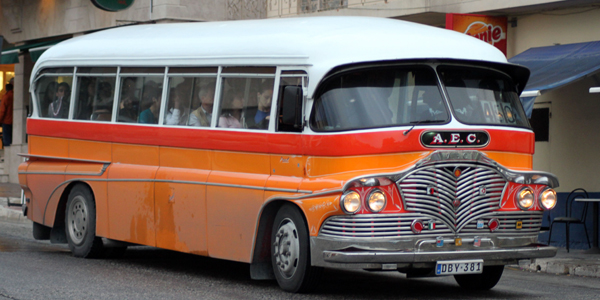 It's best to arrive by plane, but Malt'as nostalgic buses take you back in time. (Navjot Singh)