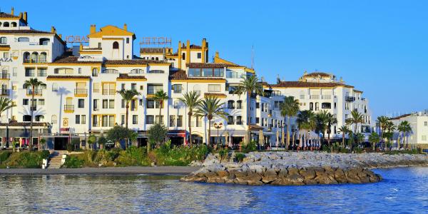 Puerto Banus in Marbella