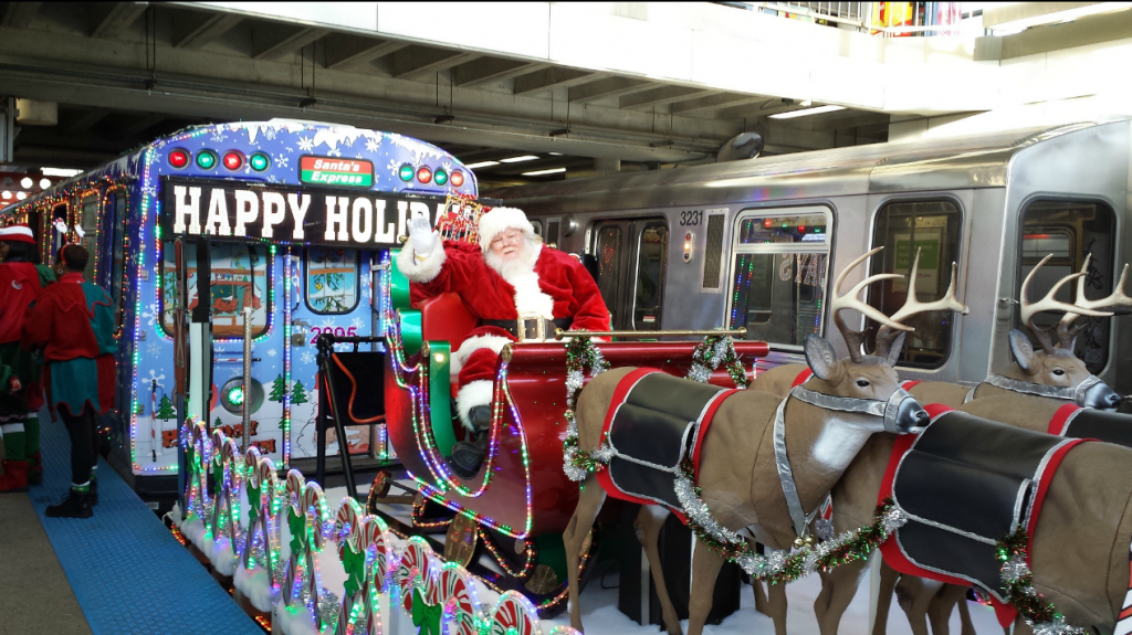 Chicago Holiday Train, Source: CTA (Flickr)