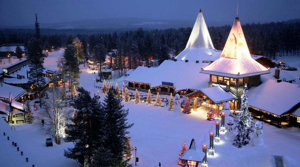 Arctic Circle & Santa Claus Village in Rovaniemi in Lapland, Source: Next Trip Tourism