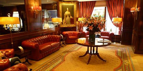 Lobby of Hotel Bristol