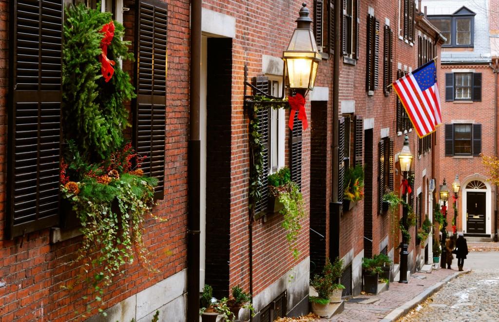 Beacon Hill in Boston, Source: Shutterstok (Jorge Salcedo)