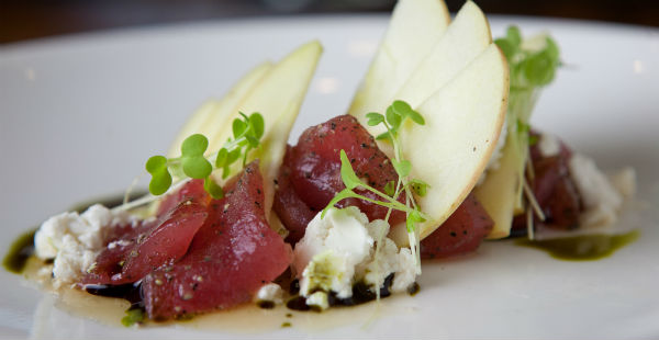 Majuro Sashimi and Goat Cheese by Erica Wilkins (1)
