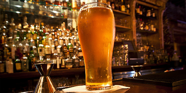 Pint of Beer at a Local Pub (Shutterstock.com)