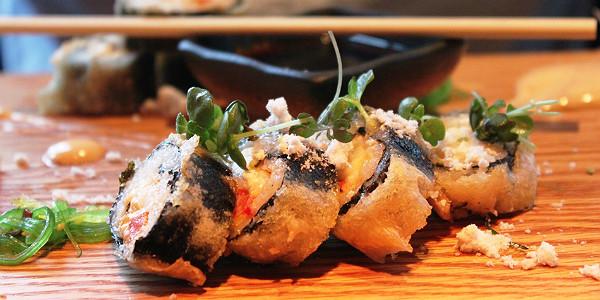 Sushi at Fish Company (Sasha Arms)