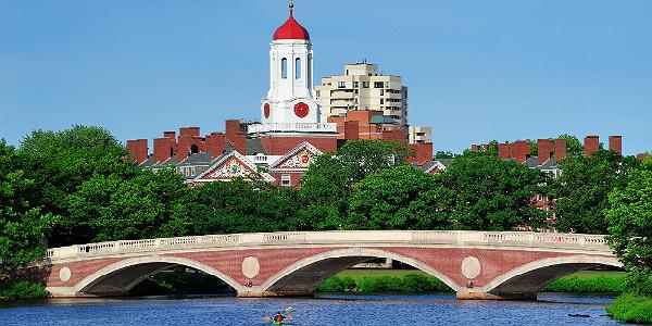 John W. Weeks Bridge over Charles River in Harvard University (Shutterstock.com)