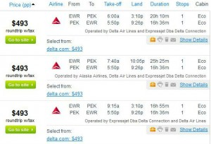 Newark-Beijing: Fly.com Search Results