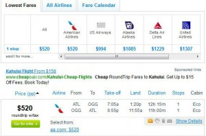 Atlanta-Kahului, Maui: Fly.com Search Results