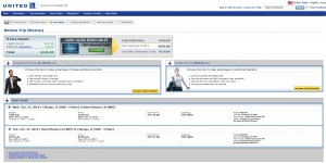 $166 -- Chicago to New Orleans: United Booking Page