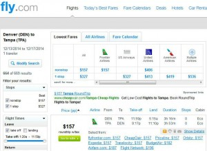 Denver-Tampa: Fly.com Search Results
