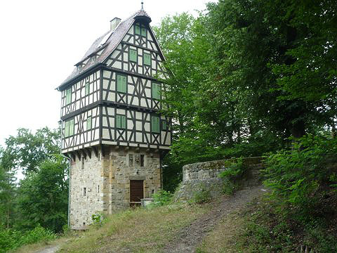 Herzog Ernst II von Sachsen's hunting lodge in Altenburg at the Jagdanlage Rieseneck aka The Giant's Corner