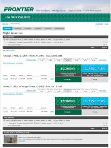 $30 -- Chicago to Miami Roundtrip: Frontier