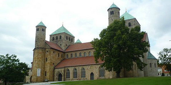 St Michael's Church, Hildesheim (Godfrey Hall)