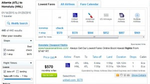 $570 -- Atlanta to Honolulu: Fly.com Search Results