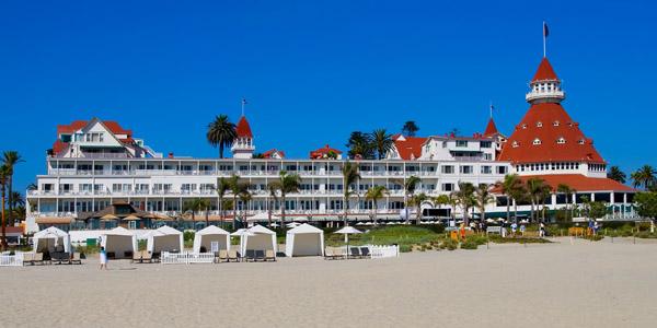 Hotel Del Coronado, San Diego (Shutterstock.com)