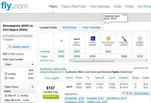 Minneapolis-Fort Myers: Fly.com Search Results