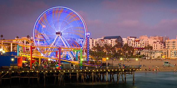 Santa Monica Pier, Los Angeles (Shutterstock.com)
