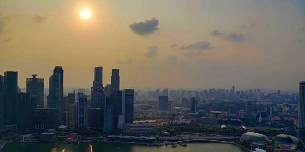 Sunset over Marina Bay Sands (Navjot Singh)
