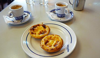 Lisbon's Custard Tarts (Godfrey Hall)