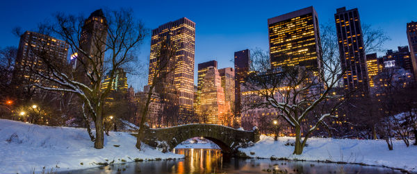 Gapstow Bridge in Central Park, New York City Featured (Shutterstock.com)