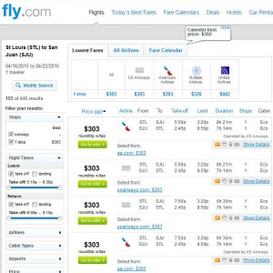 St. Louis-San Juan: Fly.com Search Results