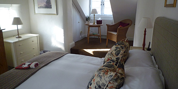 Bedroom in Old Swan (Godfrey Hall)