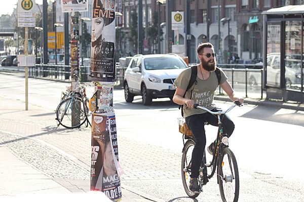 Cycling Hipster (Sasha Arms)