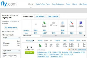 St. Louis-Las Vegas: Fly.com Search Results