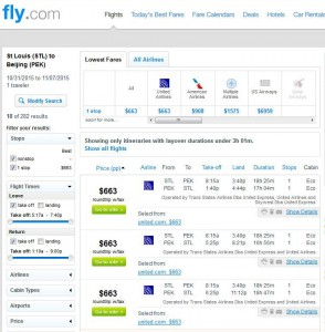 St. Louis-Beijing: Fly.com Search Results