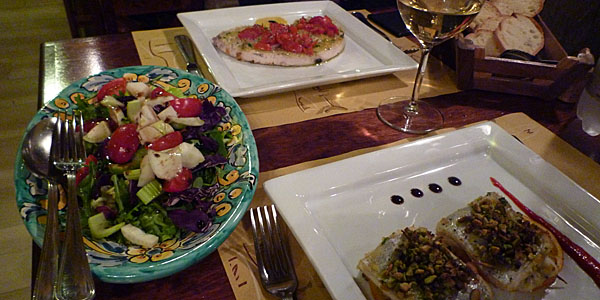 Sicilian Food at a Putia (Godfrey Hall)