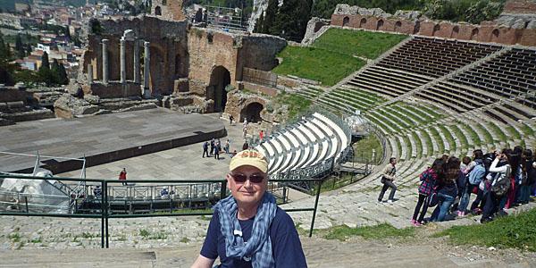 The Author Amphitheatre at Taormina (Godfrey Hall)