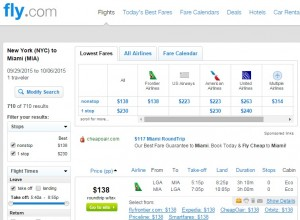 New York City to Miami: Fly.com Results
