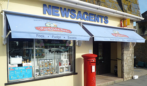 "Newsagents used in ""Broadchurch's"" Series 1 (Godfrey Hall)"