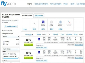 St. Louis-Belize City: Fly.com Search Results
