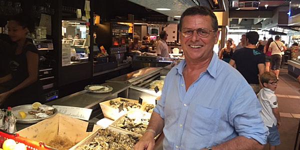 Monsieur Antonin, owner of Chez Antonin in Les Halles (David Wishart)