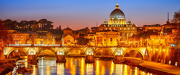 St. Peter's Cathedral, Rome, Europe Featured (Shutterstock.com)