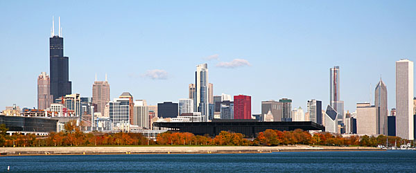 Chicago Skyline in Fall Featured (Shutterstock.com)