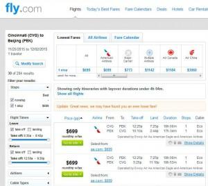 Cincinnati-Beijing: Fly.com Search Results