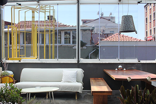 i'zaz lofts Rooftop (Sasha Arms)