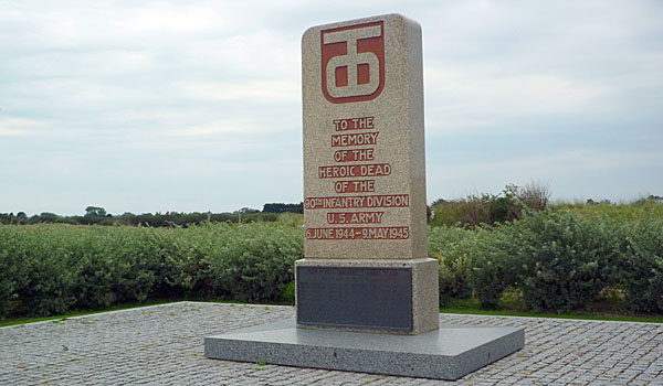 Monument at Utah Beach (Godfrey Hall)